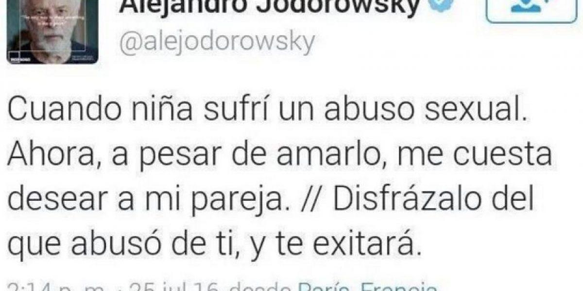 Jodorowsky da polémico consejo a víctima de abuso sexual