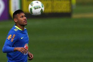 Neymar se está preparando con la selección para los Juegos Olímpicos de Rio de Janeiro Foto:AFP