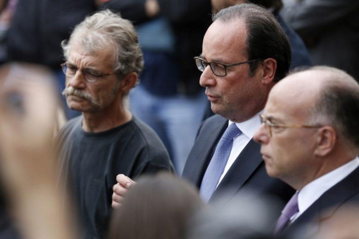 El presidente Francois Hollande declaró que fue un ataque de Estado Islámico. Foto:AFP