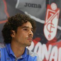 """""""Vine a Granada porque me siento querido"""": Ochoa Foto:Twitter: @GranadaCdeF"""