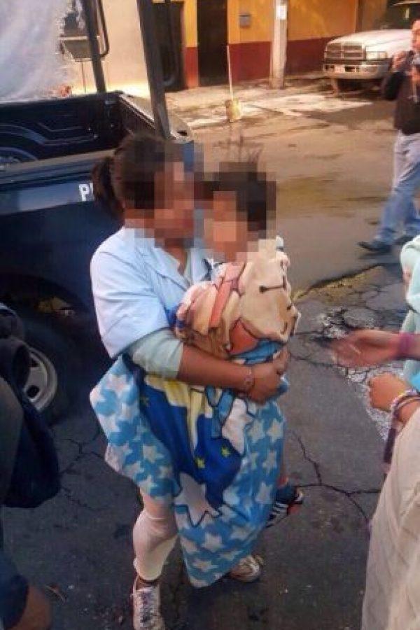 La madre afirmó que el niño se salió porque dejó abierta la puerta Foto:twitter @SSP_CDMX
