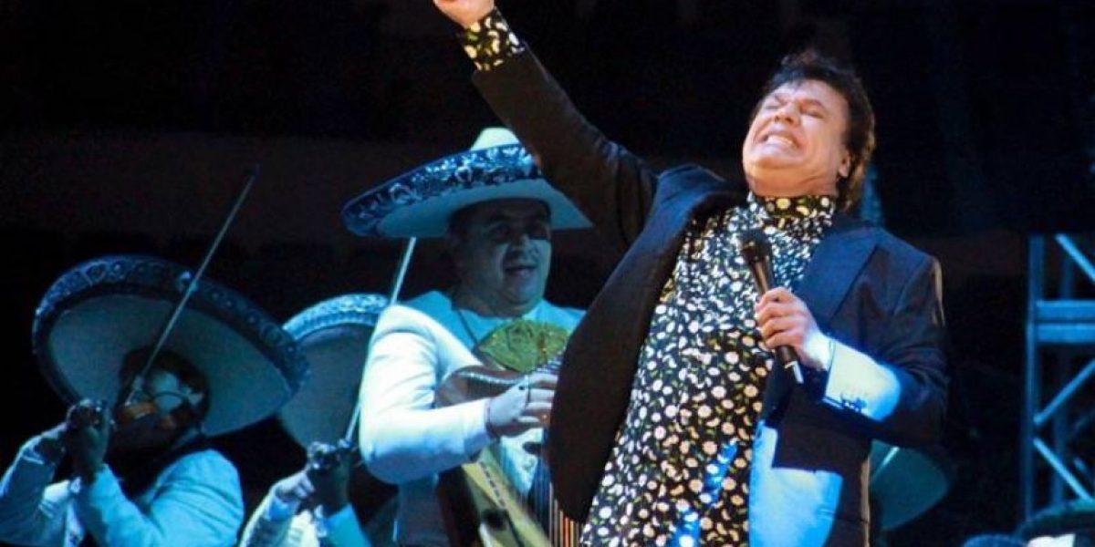 Juan Gabriel dará concierto gratuito en el Zócalo de la CDMX