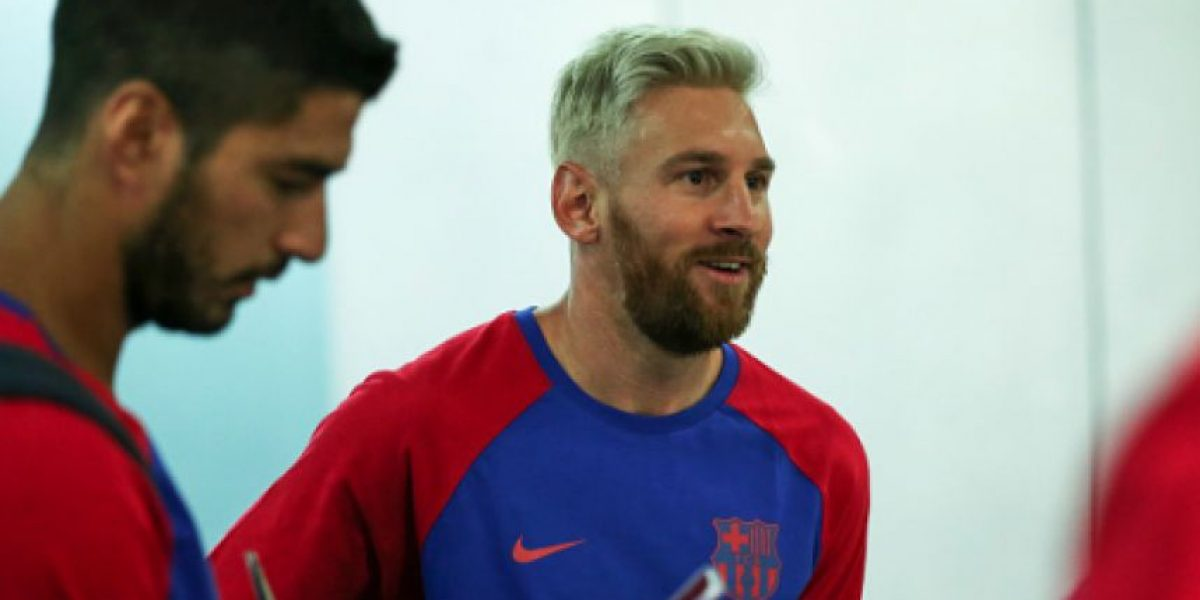 VIDEO: Messi vuelve a demostrar su amor por La Albiceleste