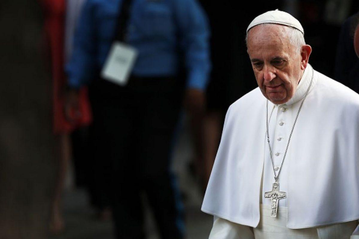 """El Sumo Pontífice dijo sentir """"dolor y el horror"""" por esta """"absurda violencia"""" Foto:Getty Images"""