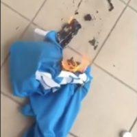 Las poleras quemadas de Higuaín están abundando en Napoli Foto:Twitter
