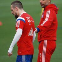 Franck Ribéry reveló una mala relación con Pep Guardiola Foto:Getty Images