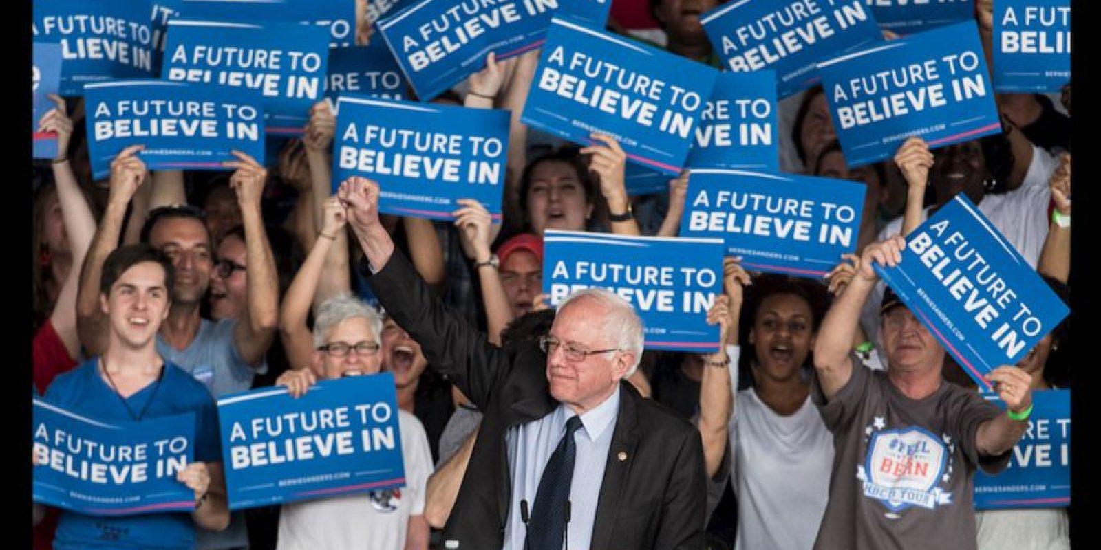 Sanders será uno de los primeros oradores durante el primer día de convención. Foto:Getty Images