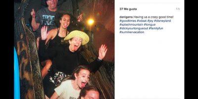"""Una de sus principal atracción es el juego """"Splash Mountain"""". Foto:Instagram/danigena"""