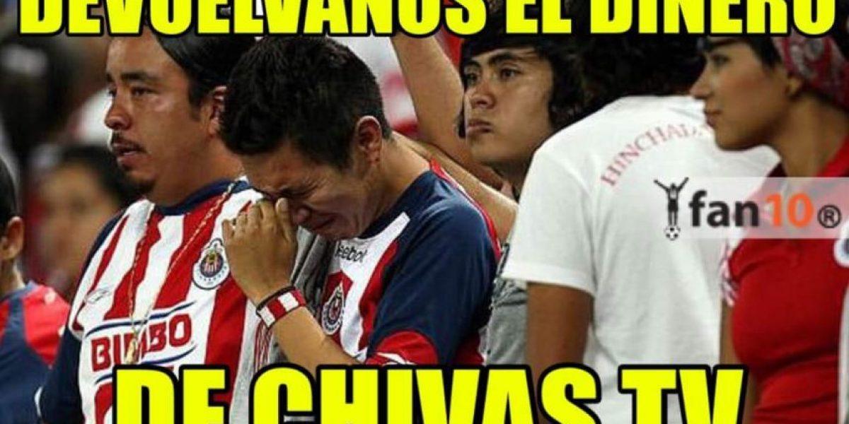 MEMES: ¡Mala suerte! Golean a las Chivas y para colmo gana el América