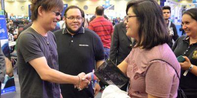 El productor de videojuegos participó en Campus Party 7. Foto:Luis Ángel Aguilar Cruz