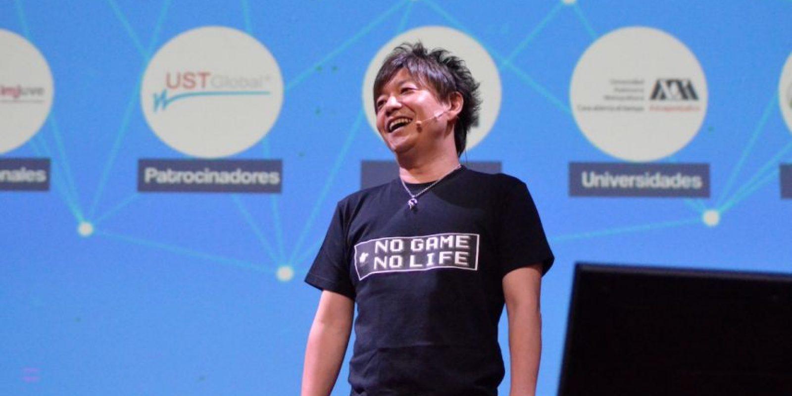 Naoki Yoshida, productor y director de Final Fantasy XIV para Square Enix. Foto:Luis Ángel Aguilar Cruz