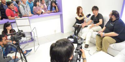 El desarrollador japonés compartió sus experiencias con los asistentes. Foto:Luis Ángel Aguilar Cruz