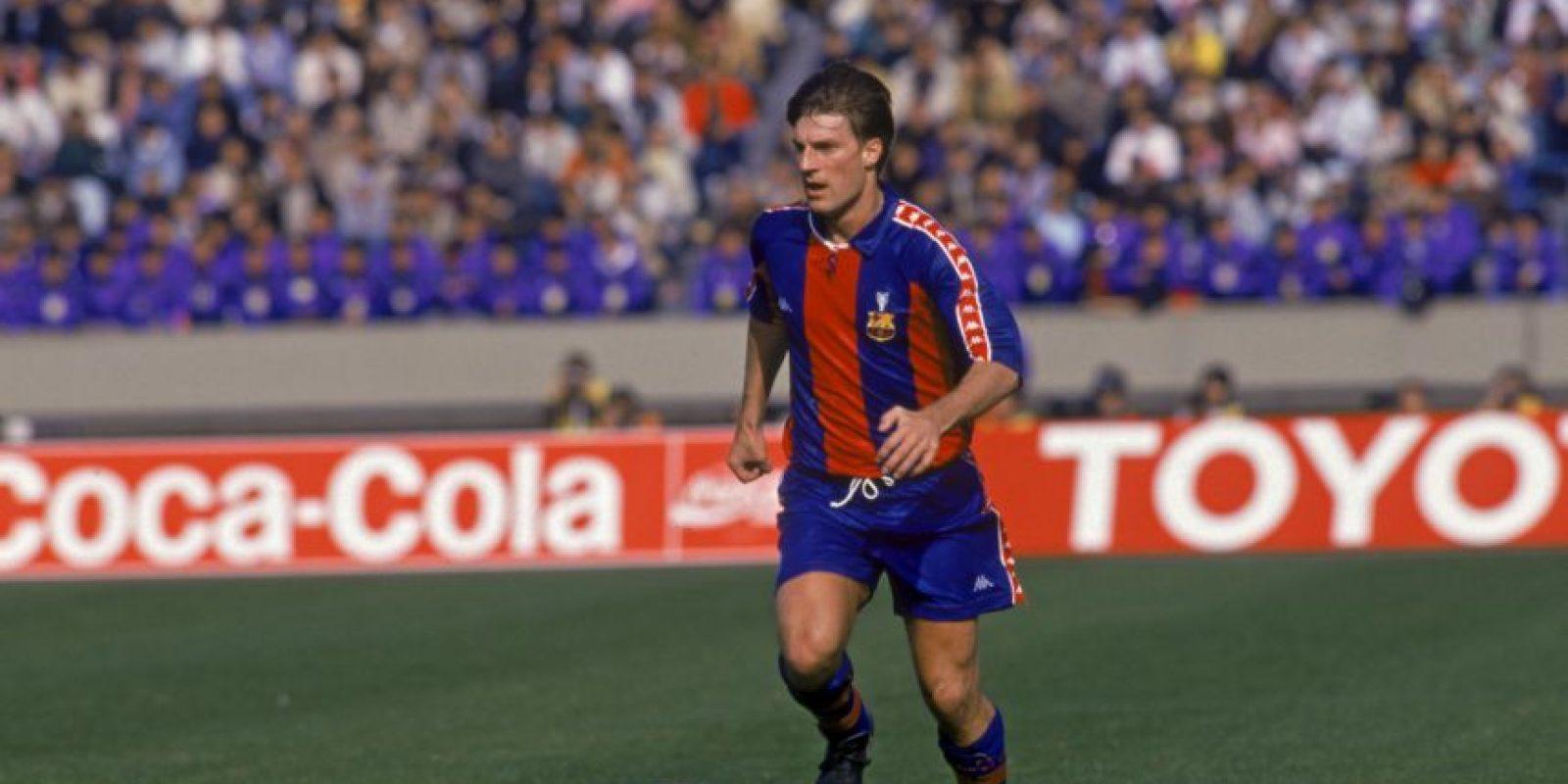 Michael Laudrup fue otro de los jugadores que cambió Barcelona por Real Madrid Foto:Getty Images