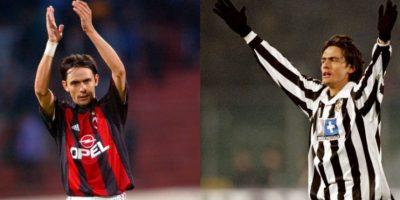 Filippo Inzaghi cambió Juventus por AC Miilán y su actitud no fue perdonada Foto:Getty Images