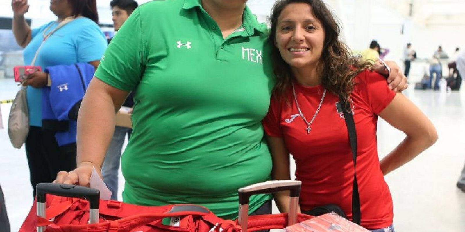 Delegación Mexicana ya se encuentra en Rio de Janeiro Foto:Twitter