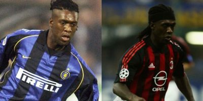 Clarence Seedorf también es un ejemplo de los jugadores que vistieron las camisetas de Inter de Milán y AC Milán Foto:Getty Images