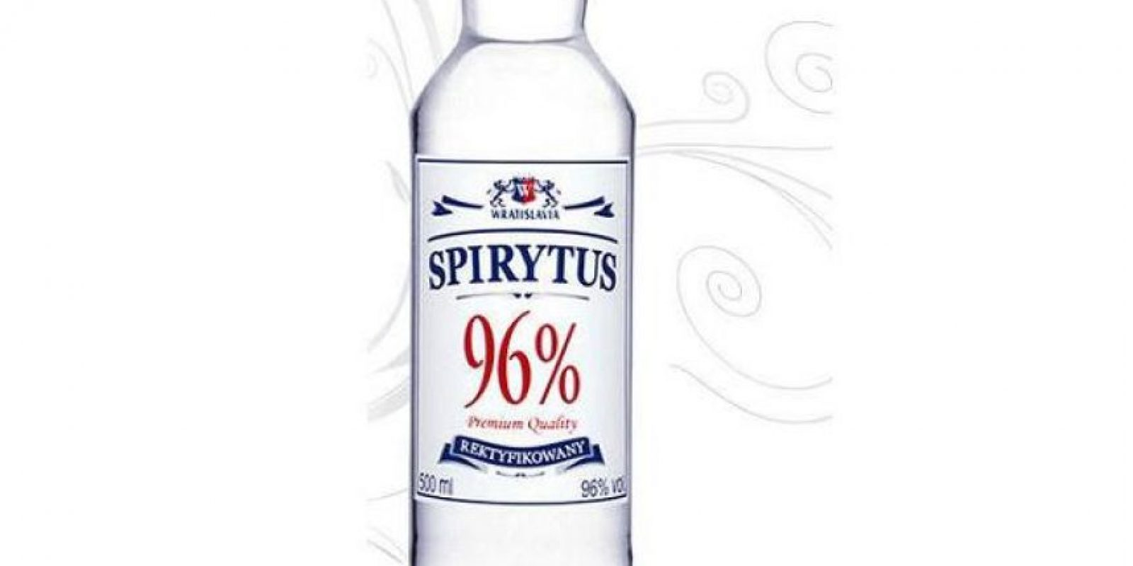 1. Vodka Spirytus Foto: Wikimedia Commons