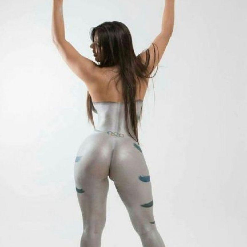 Es el mejor trasero de Brasil Foto:Playboy