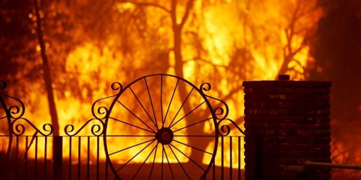 Incendios destruyen set de filmación en Los Ángeles