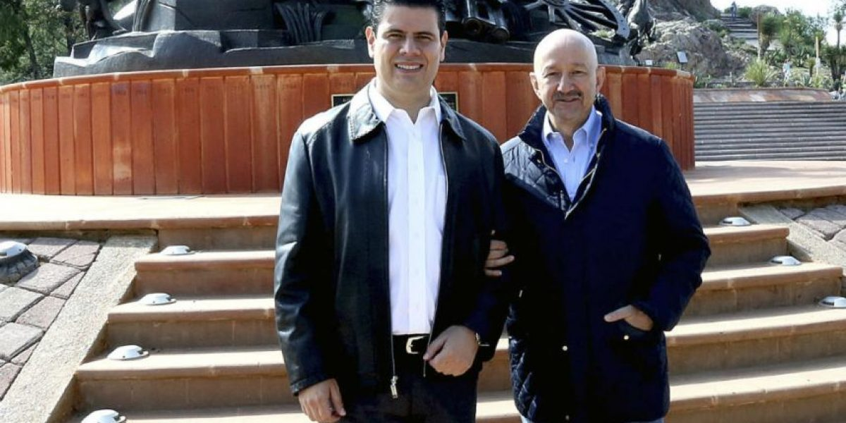 FOTOS: Salinas de Gortari se pasea con gobernador de Zacatecas
