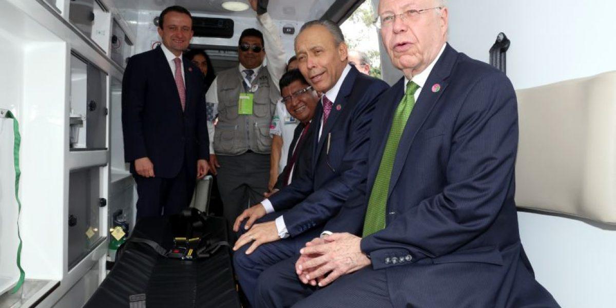 ISSSTE pone en marcha 465 nuevas ambulancias