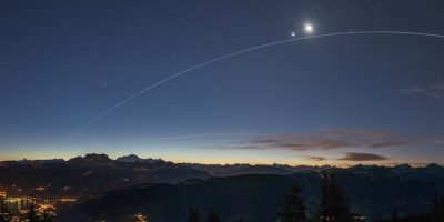 ISS under Venus and the Moon Foto: Philippe Jacquot – Insight Astronomy Photographer of the Year 2016