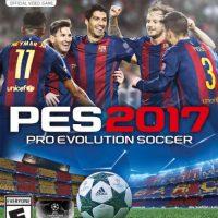La portada del PES 2017 Foto:Konami