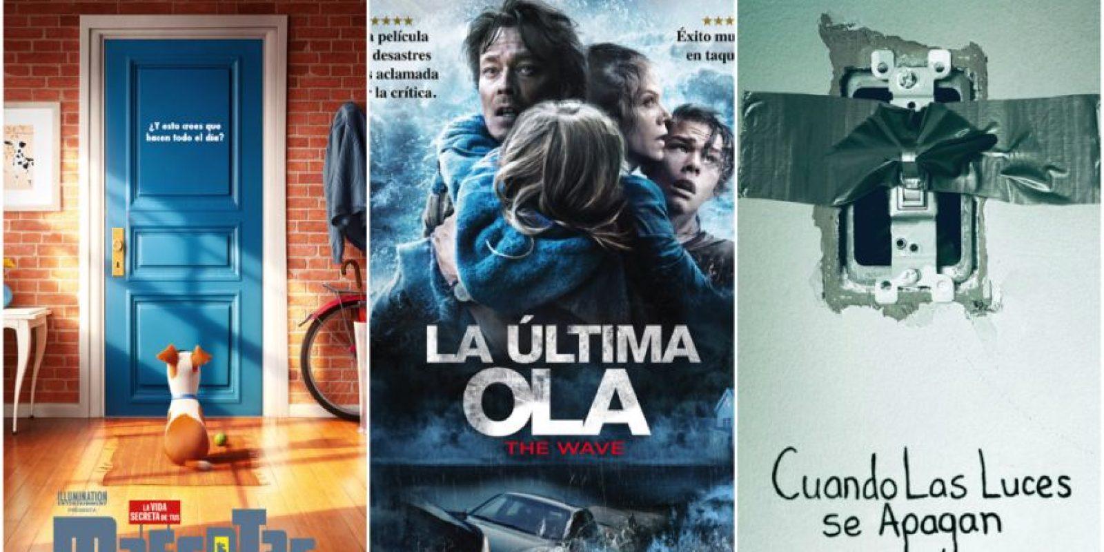 Llega a los cines de México: La vida secreta de tus mascotas, La última ola y Cuando las luces se apagan