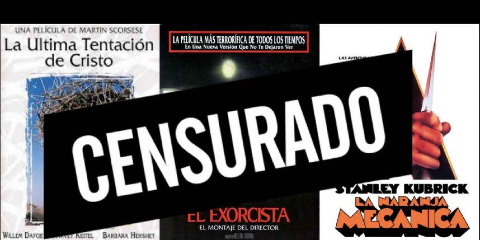 En nuestra galería podrán conocer los pósters de las cinco películas más censuradas de la historia del cine. Foto:Publimetro