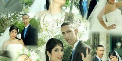 """Y más sorprendentes fueron sus imágenes de matrimonio con """"La Kuki"""". Foto:vía Youtube"""