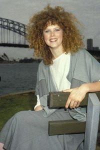 Nicole Kidman tenía un aspecto bastante corriente. Foto:vía Getty Images