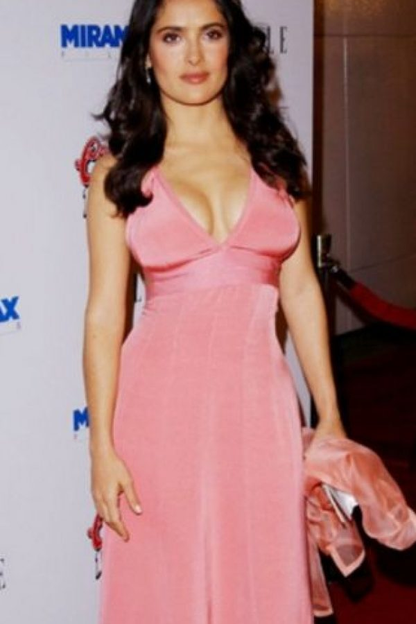 Salma Hayek era exuberante. Foto: vía Getty Images