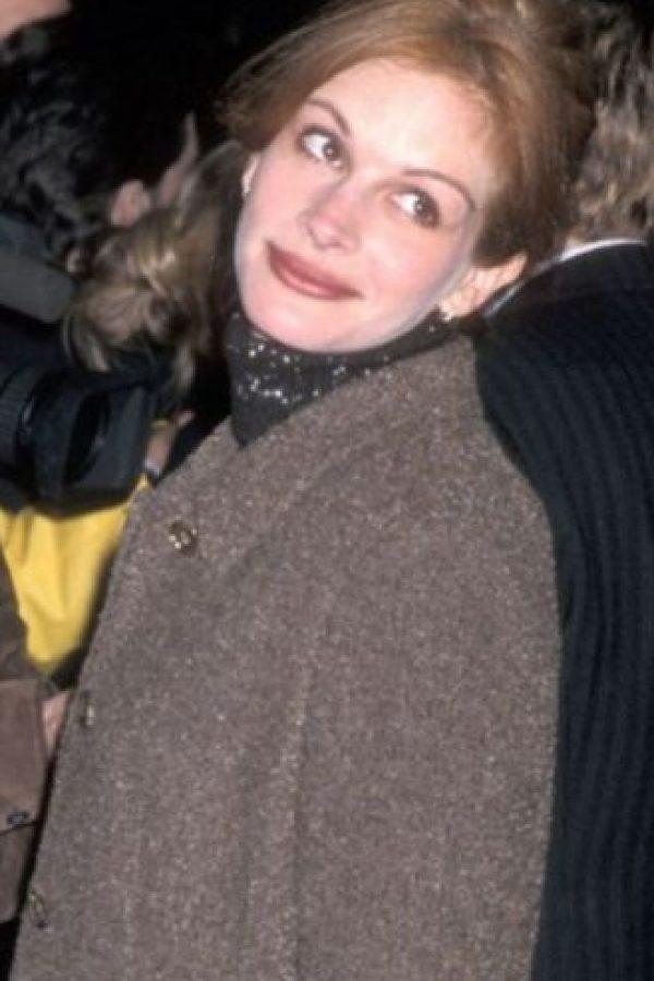 """Julia Roberts era la típica """"chica de al lado"""". Foto:vía Getty Images"""