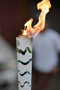 Problemas en la llegada de la antorcha olímpica a Río de Janeiro Foto:Getty Images