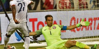 El joven puntero ha jugado siete partidos por Colombia y marcó un gol en la Copa América Centenario Foto:AFP