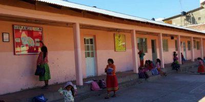 La casa de las niñas tarahumaras. Foto:Pablo Padilla