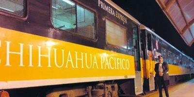 El tren se toma en Chihuahua. Foto:Erika Padrón