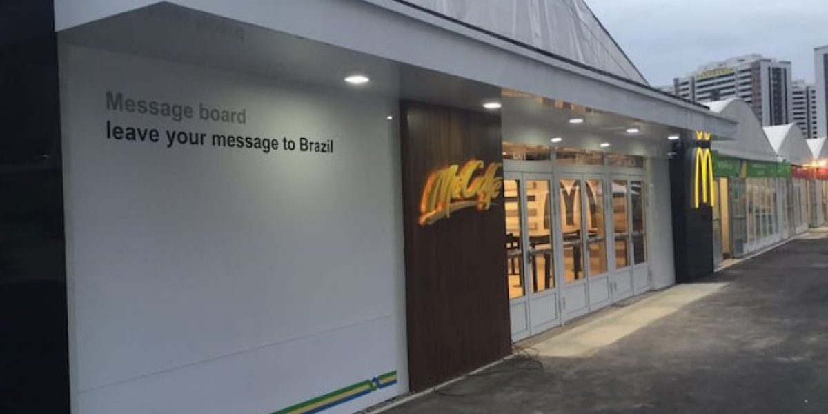 La comida rápida y su importante papel en los Juegos Olímpicos