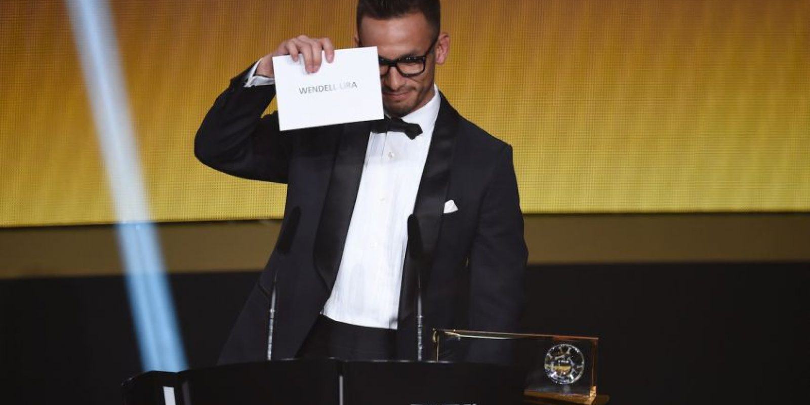 Wendell Lira ganó el Premio Puskas a principio de año por su golazo en la victoria de Goianésia sobre o Atlético Goaiania Foto:Getty Images