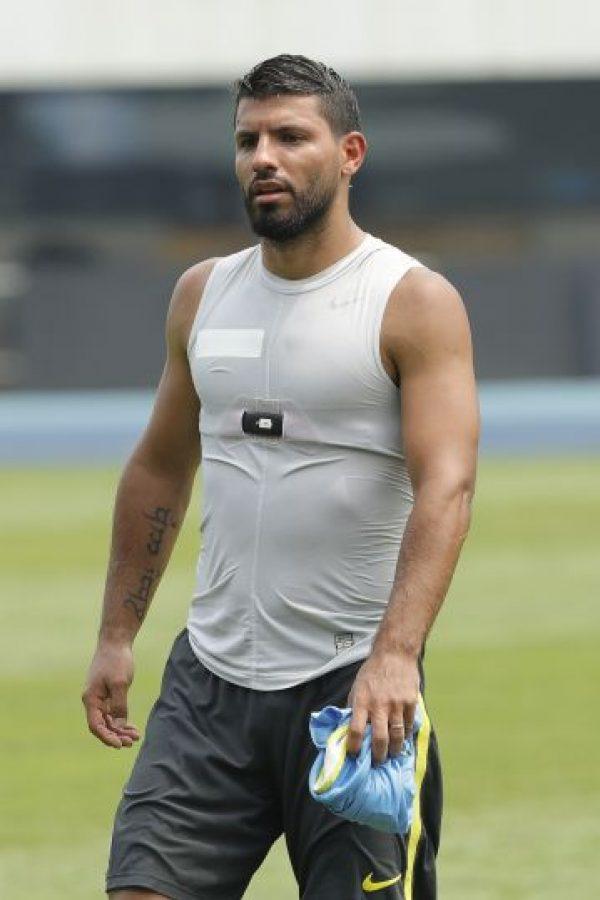 El delantero argentino volvió de las vacaciones y algunos notaron que lo hizo con unos kilos de más Foto:Getty Images