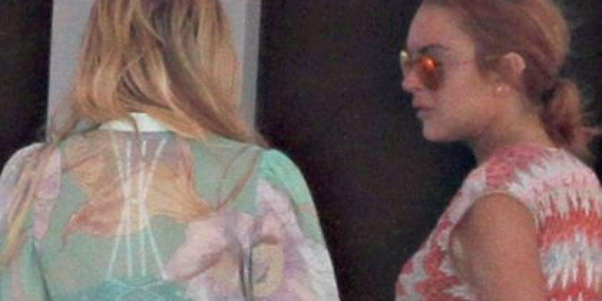 Lindsay Lohan es captada fumando en medio de rumores de embarazo