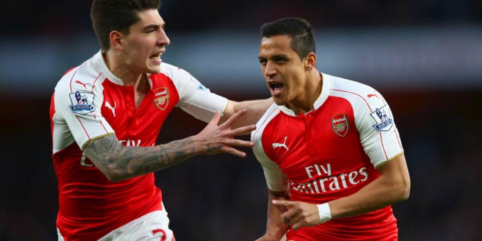 Arsenal completa el top 5 Foto:Getty Images