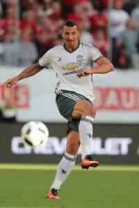 Zlatan Ibrahimovic marca su primer gol con Manchester United Foto:Getty Images