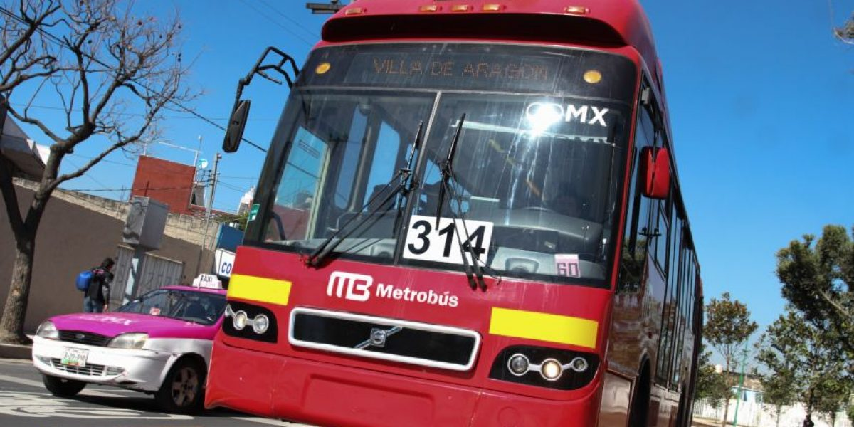 Tres estaciones de la línea seis del Metrobús permanecerán cerradas