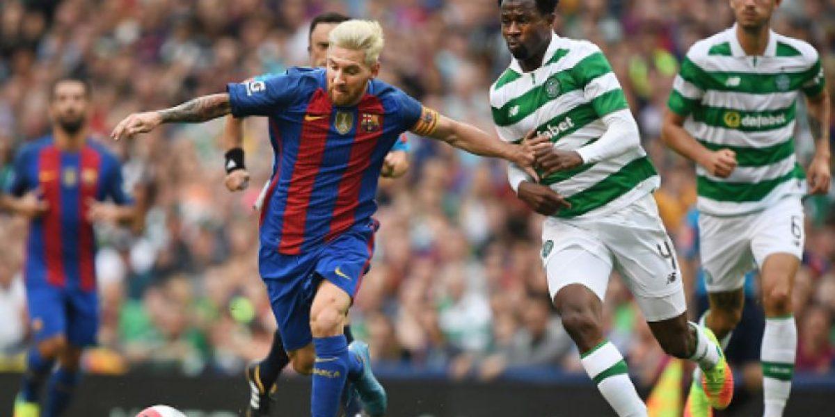 Messi vuelve a ser feliz en la goleada del Barcelona
