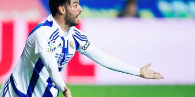Carlos Vela debutó en la pretemporada de la Real Sociedad Foto:Getty Images