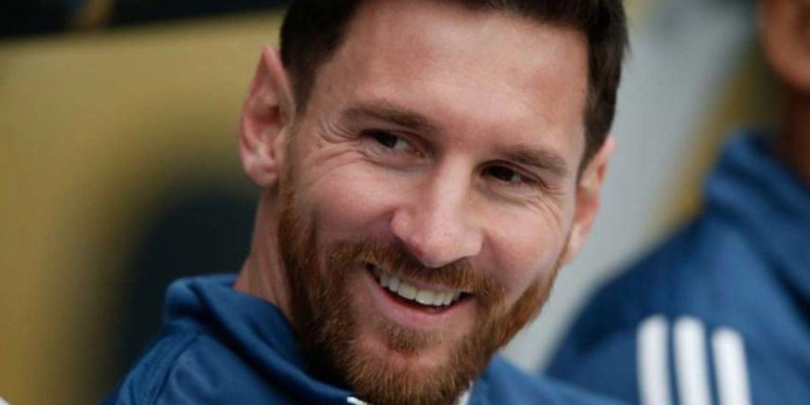 Para la Copa América Centenario apareció con una abundante barba. Foto:Getty Images