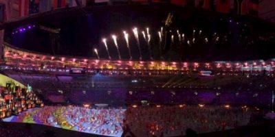 Miren las imágenes filtradas en las redes del último ensayo general de la ceremonia de inauguración de los Juegos Olímpicos de Río 2016 Foto:Twitter