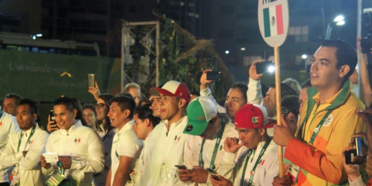 Ya ondea la bandera de México en los Juegos Olímpicos de Río