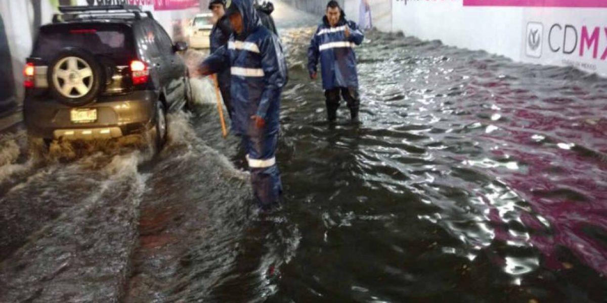 Activan Plan de Auxilio y Protección a la Población por lluvia en la CDMX